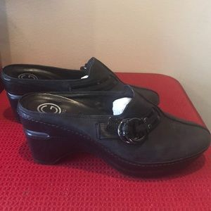 Cole Haan Black Clogs